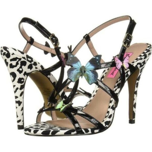 New Betsy Johnson Vandi Butterfly Heels